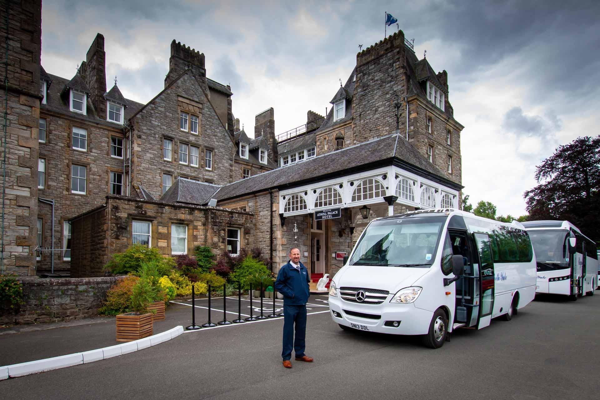Coach Hire Pitlochry Minibus Company