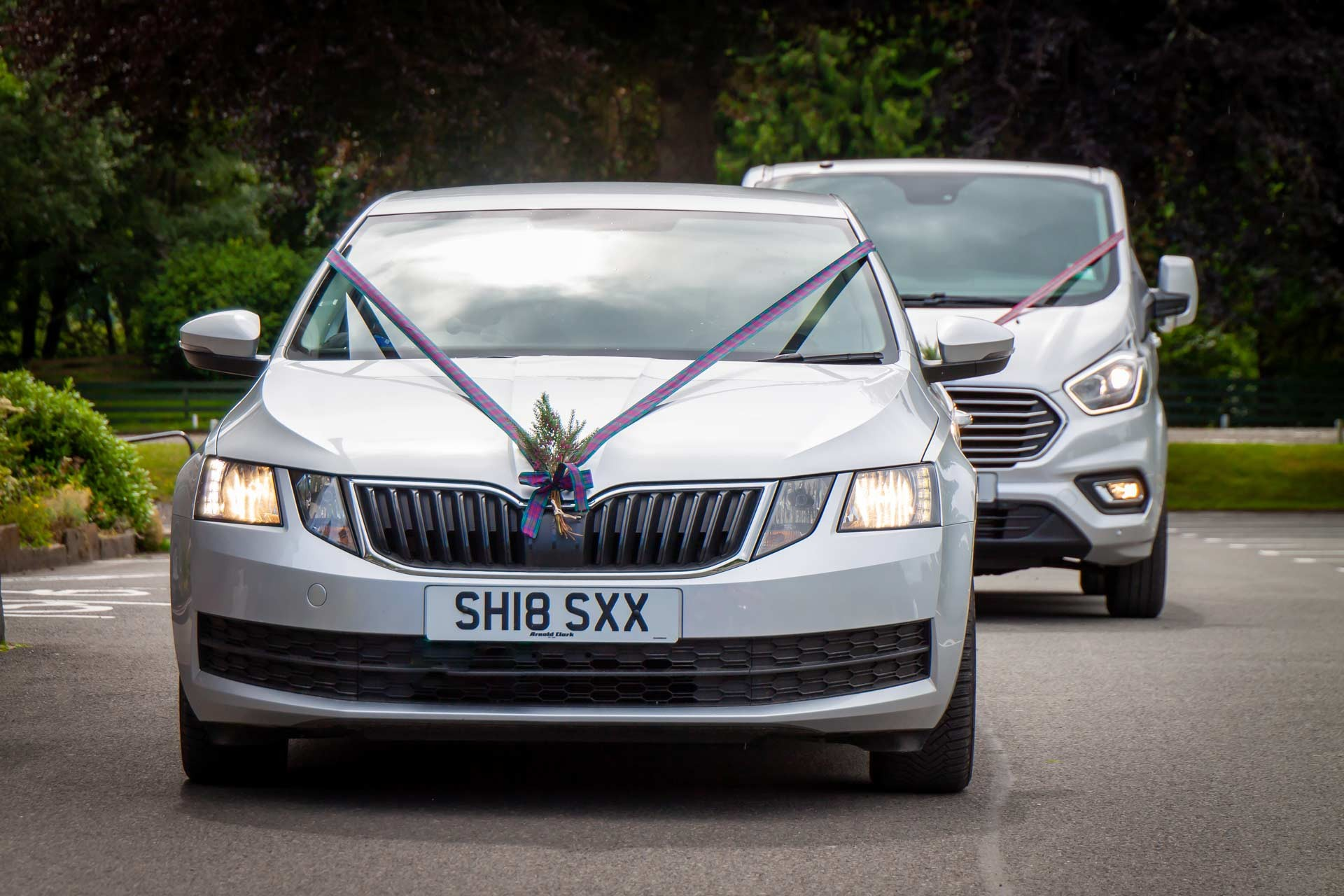 10 Executive travel wedding cars